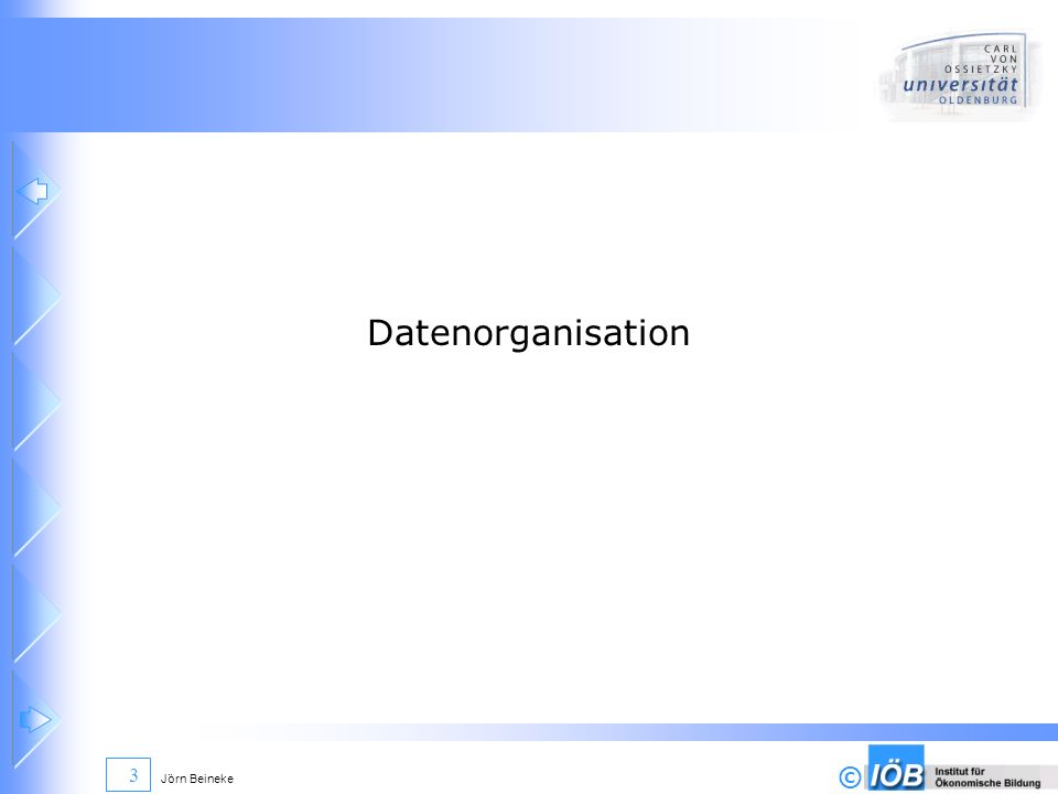 Datenorganisation