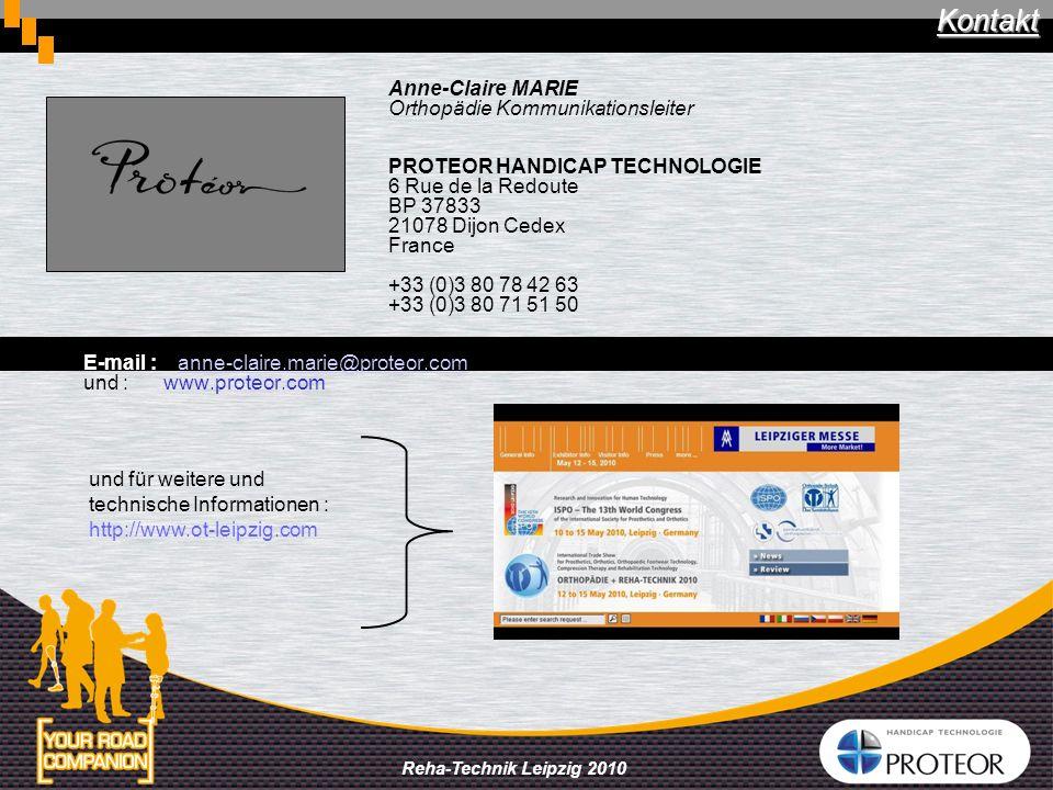 Kontakt Anne-Claire MARIE Orthopädie Kommunikationsleiter