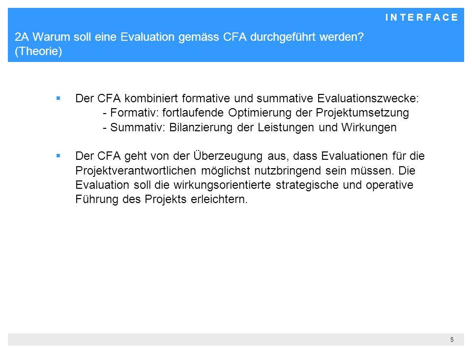 2A Warum soll eine Evaluation gemäss CFA durchgeführt werden (Theorie)