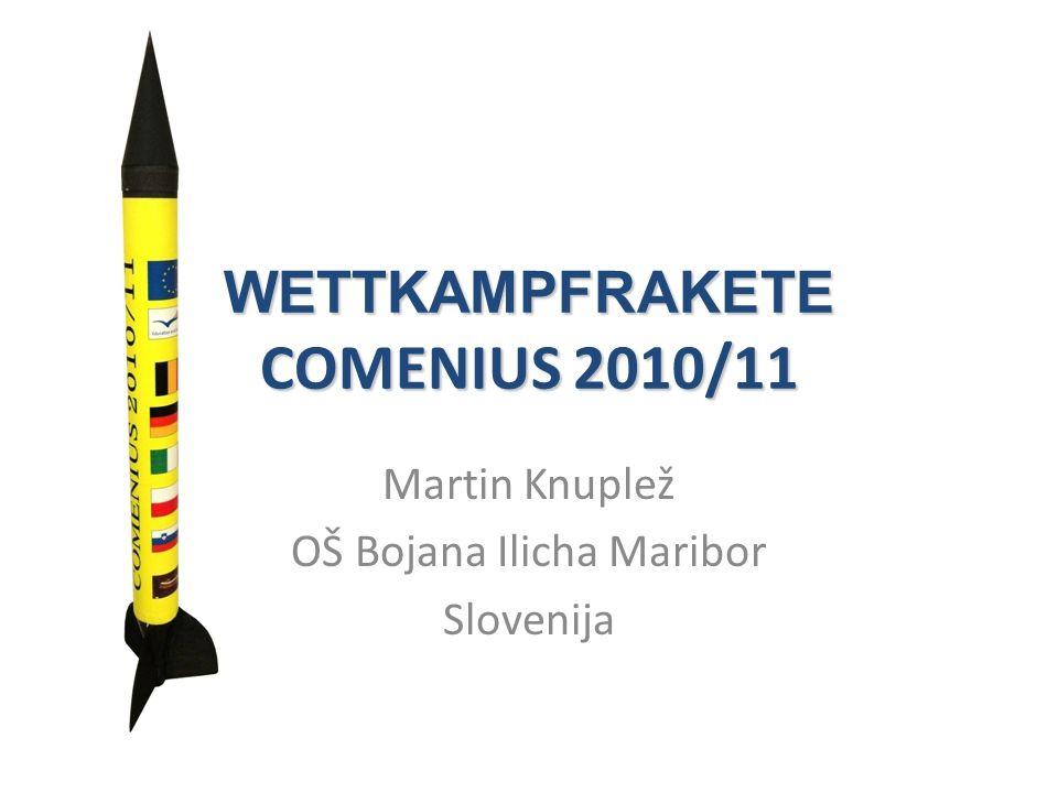 WETTKAMPFRAKETE COMENIUS 2010/11