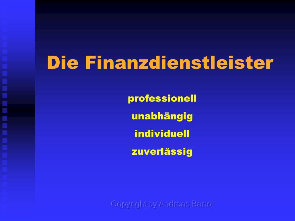 Die Finanzdienstleister