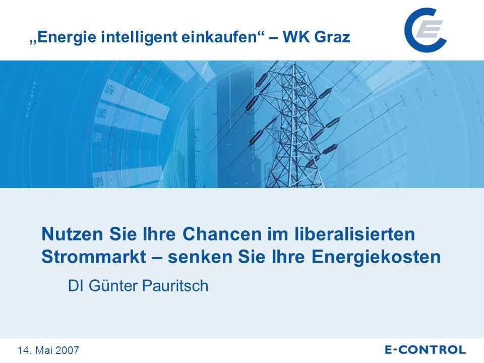 """""""Energie intelligent einkaufen – WK Graz"""