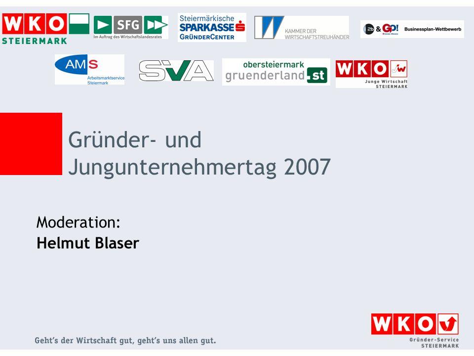Gründer- und Jungunternehmertag 2007