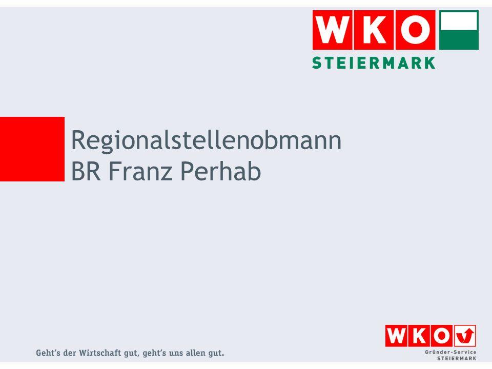 Regionalstellenobmann BR Franz Perhab