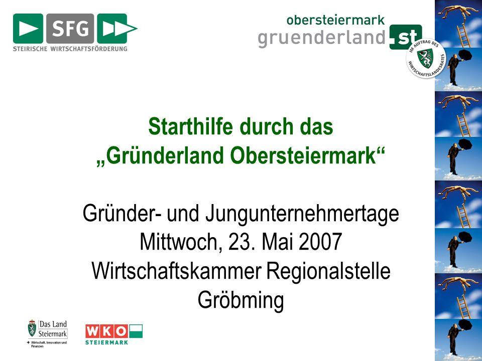 """""""Gründerland Obersteiermark"""