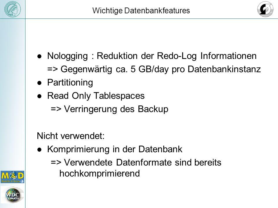 Wichtige Datenbankfeatures