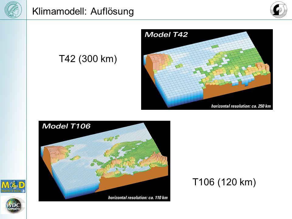 Klimamodell: Auflösung