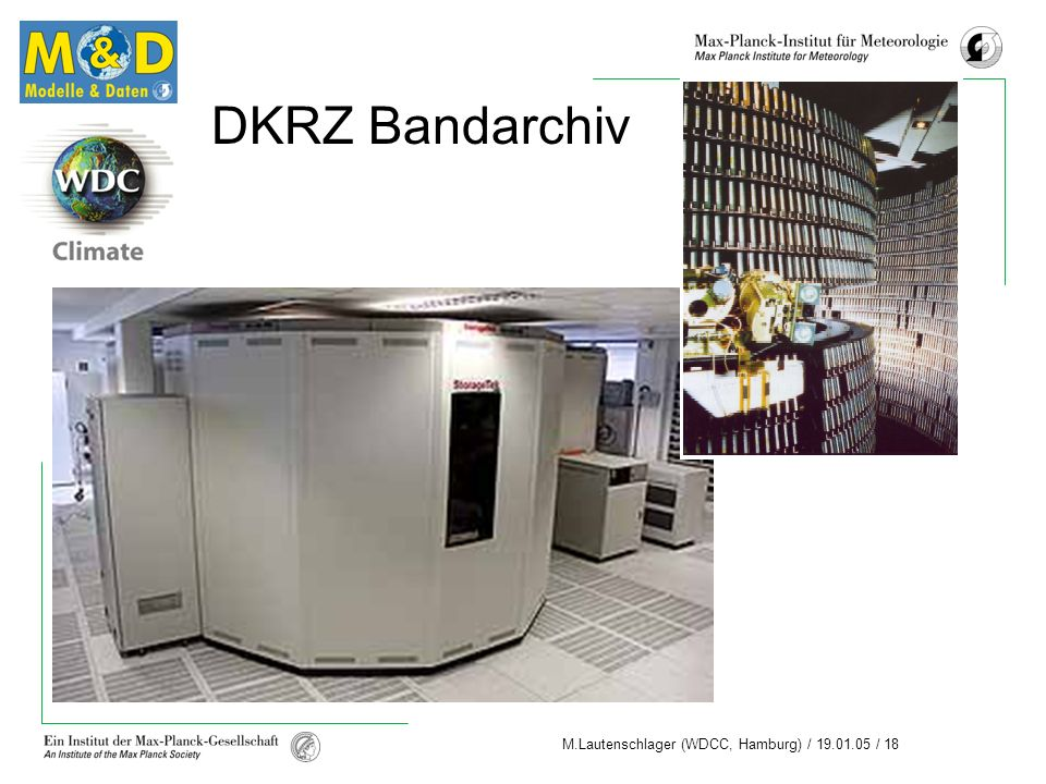 DKRZ Bandarchiv