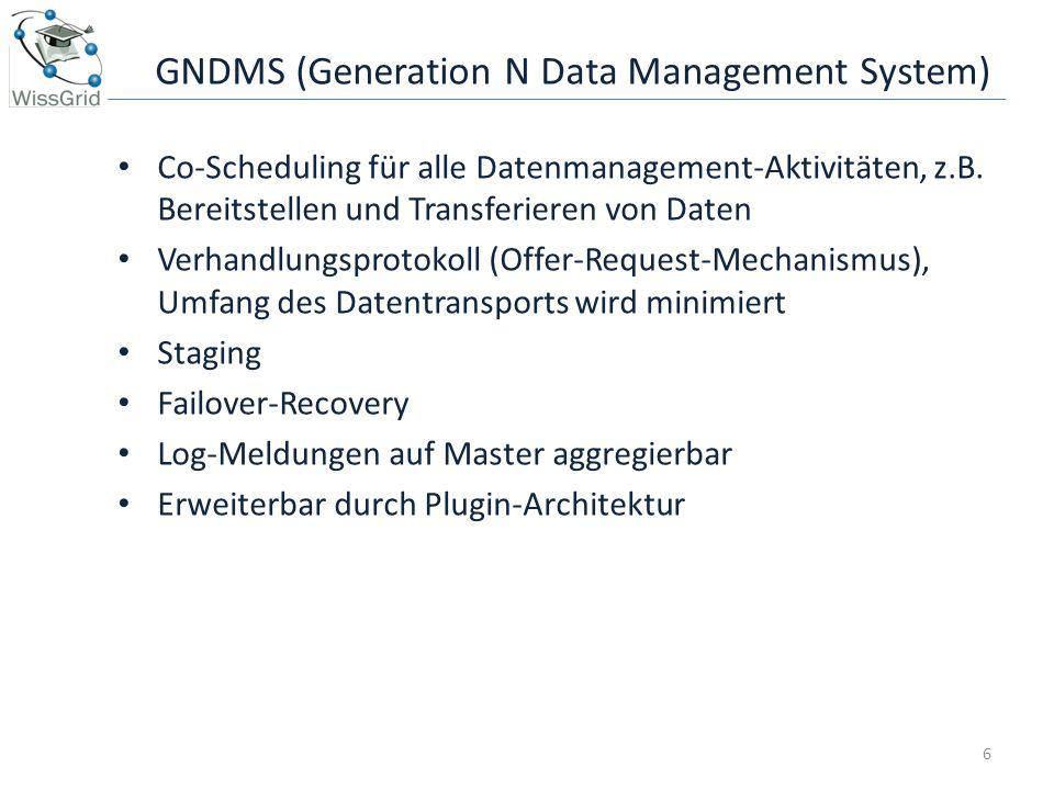 GNDMS (Generation N Data Management System)