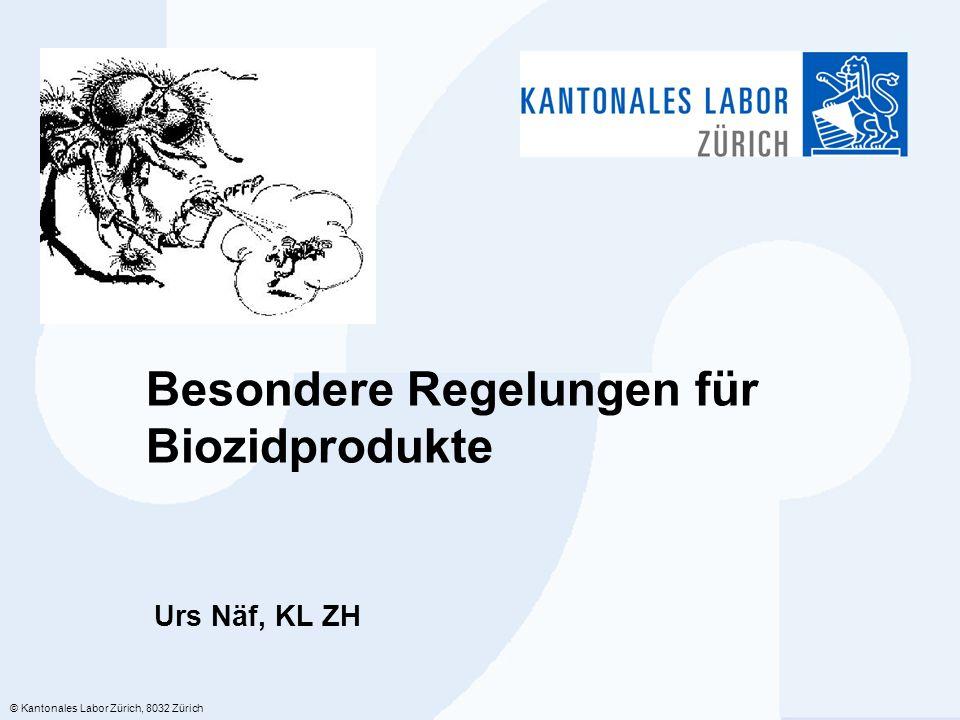 Besondere Regelungen für Biozidprodukte