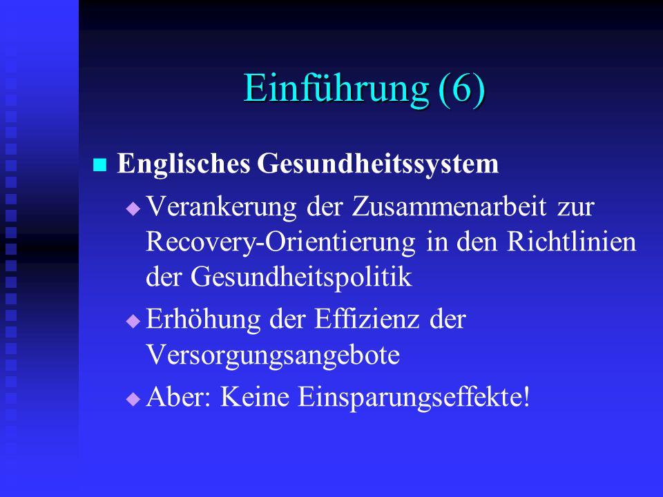 Einführung (6) Englisches Gesundheitssystem
