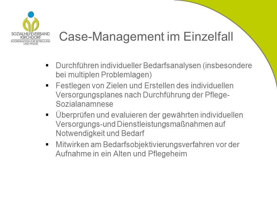 Case-Management im Einzelfall