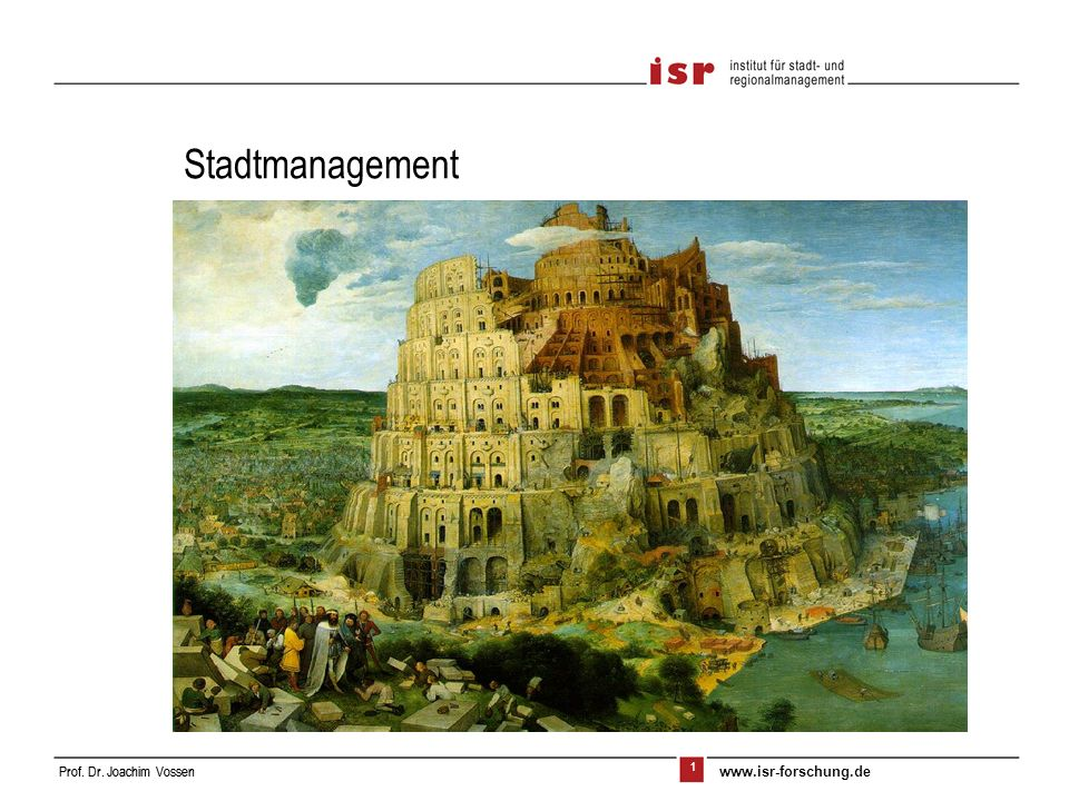 Stadtmanagement