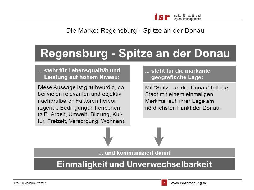 Regensburg - Spitze an der Donau