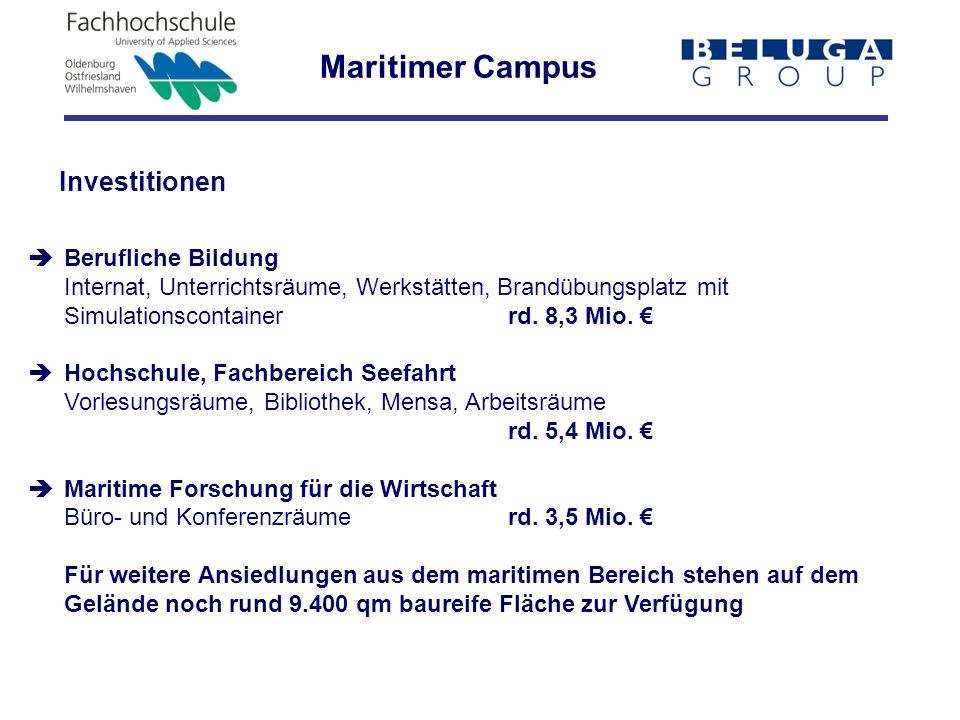 Maritimer Campus Investitionen  Berufliche Bildung
