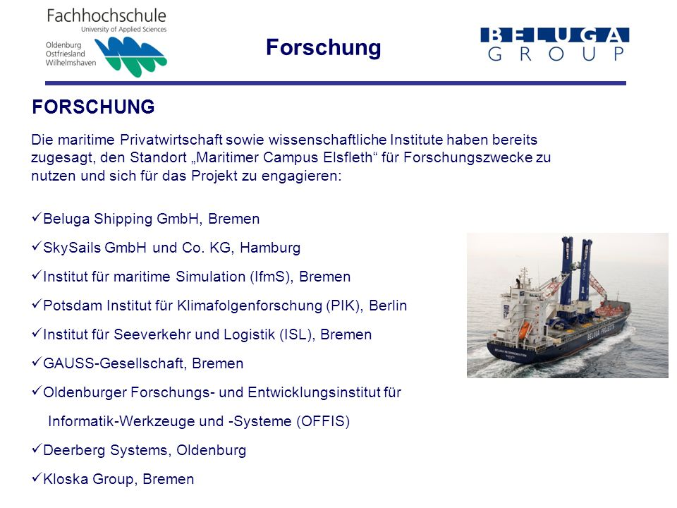 Forschung FORSCHUNG.