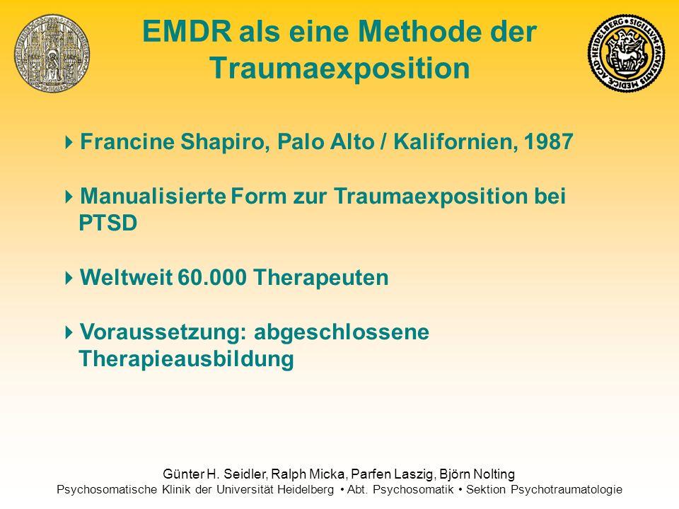 EMDR als eine Methode der Traumaexposition