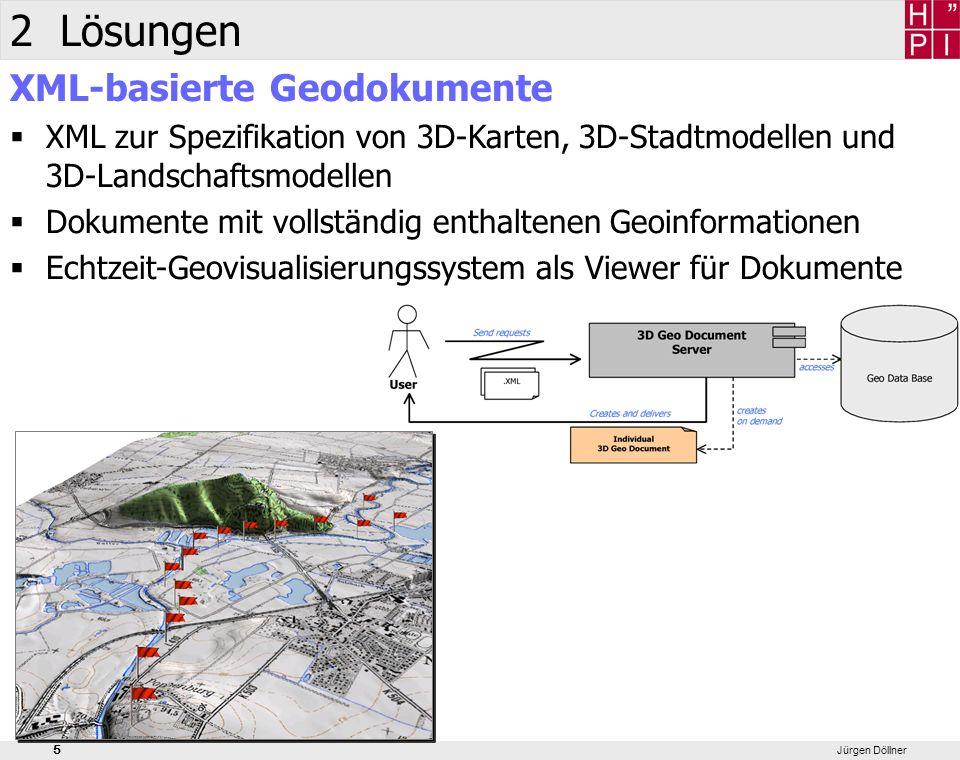 2 Lösungen XML-basierte Geodokumente