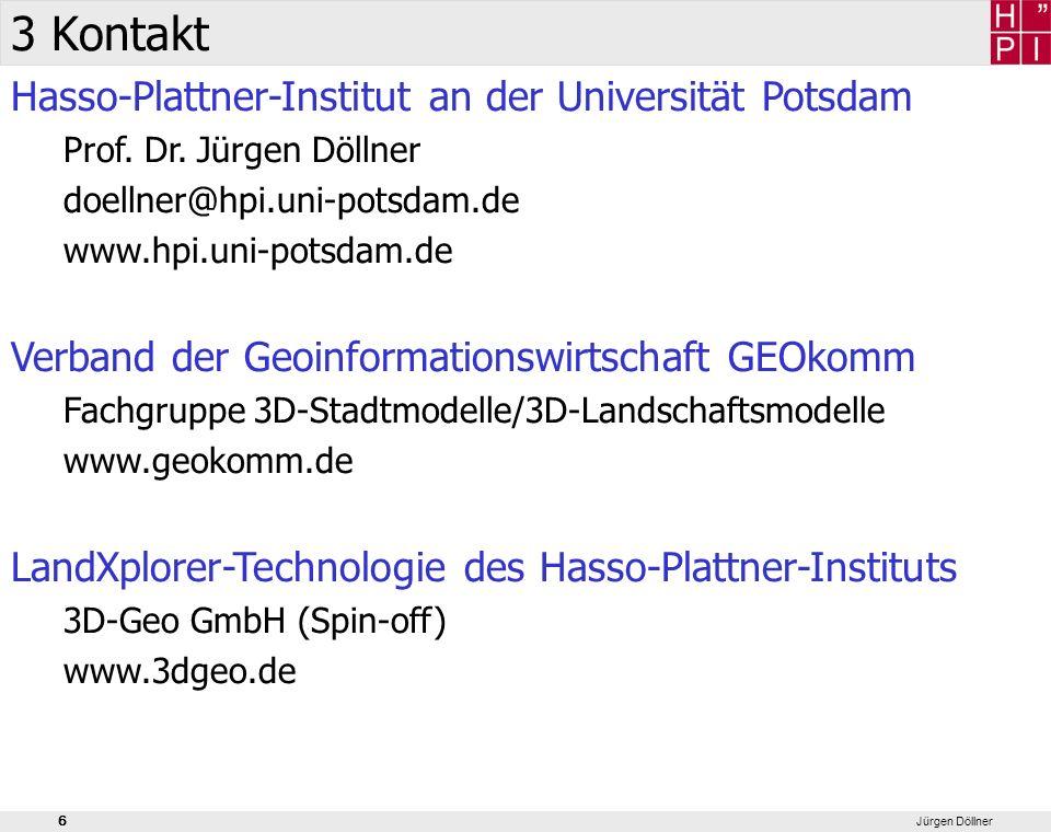 3 Kontakt Hasso-Plattner-Institut an der Universität Potsdam