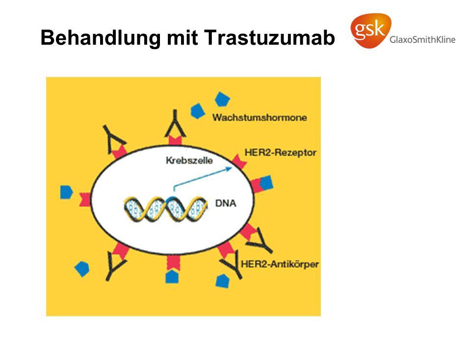 Behandlung mit Trastuzumab
