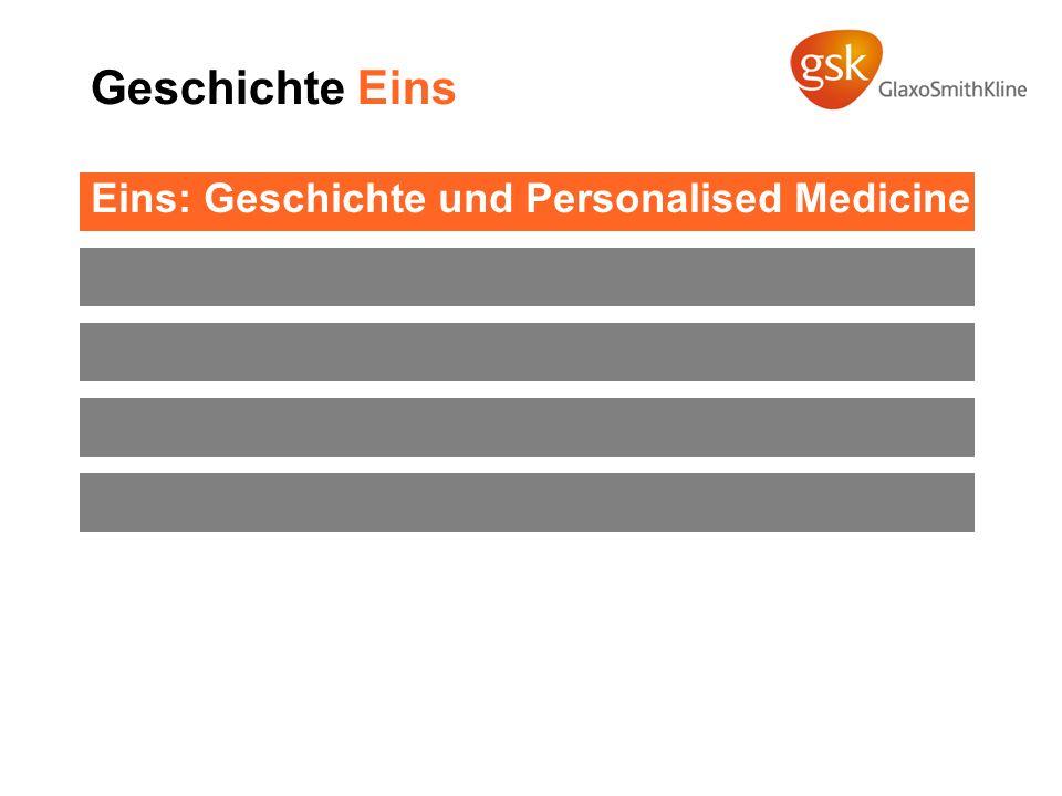 Geschichte Eins Eins: Geschichte und Personalised Medicine