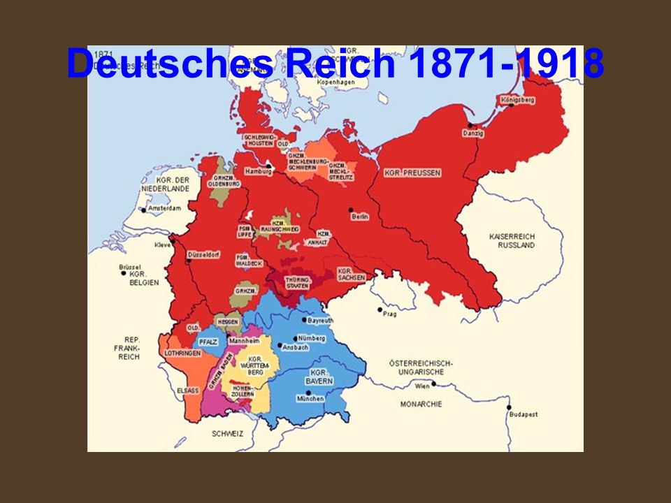 Deutsches Reich 1871-1918