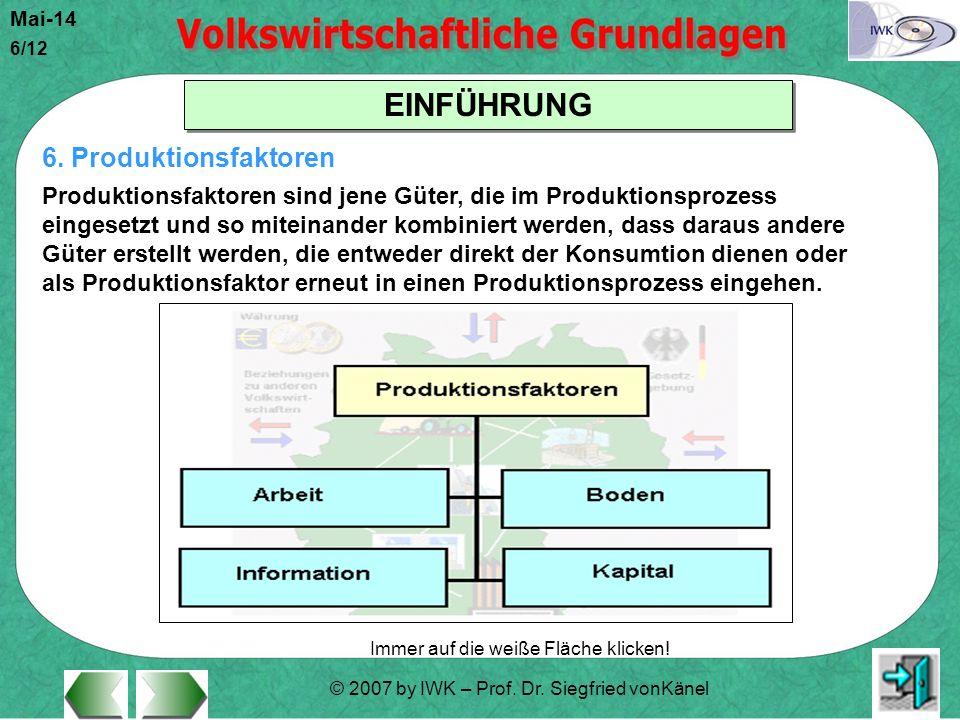 6. Produktionsfaktoren