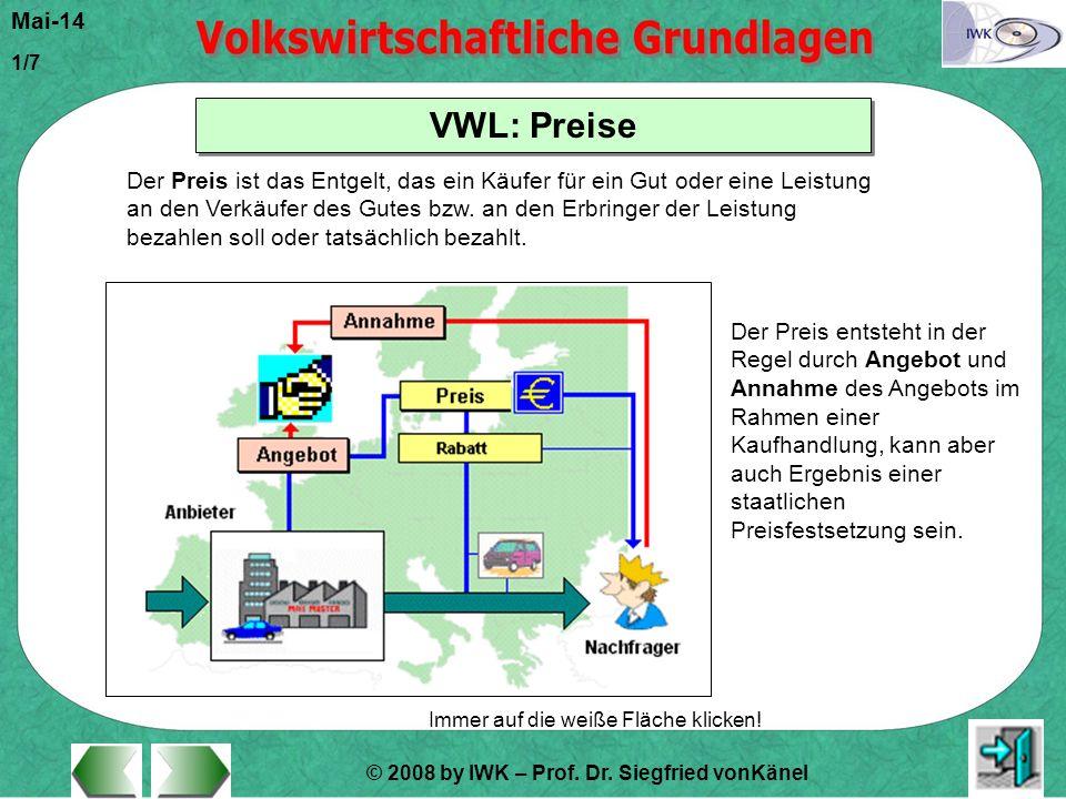 VWL: Preise