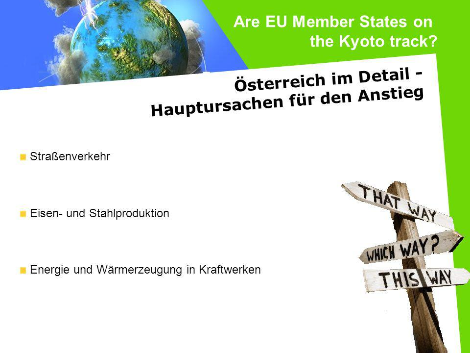 Are EU Member States on the Kyoto track Österreich im Detail -