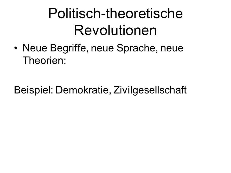 Politisch-theoretische Revolutionen