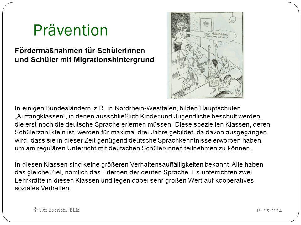 Prävention Fördermaßnahmen für Schülerinnen