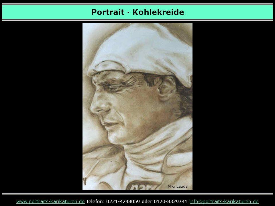 Portrait · Kohlekreide