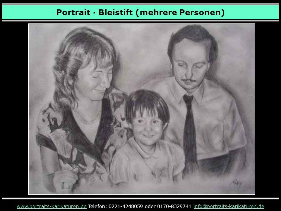 Portrait · Bleistift (mehrere Personen)