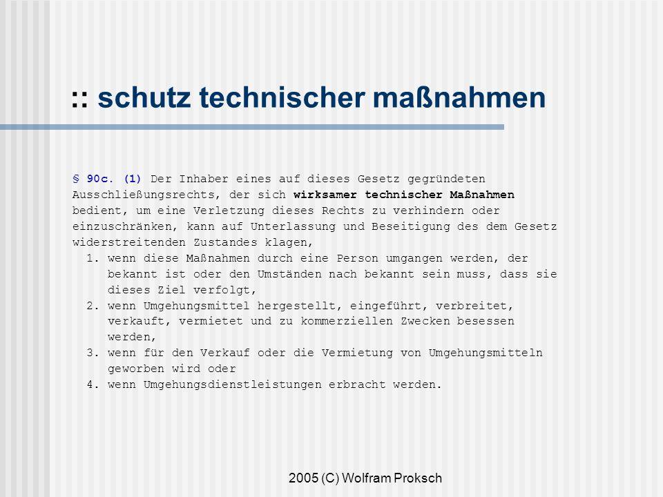 :: schutz technischer maßnahmen