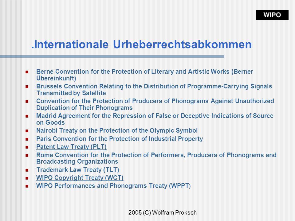 .Internationale Urheberrechtsabkommen