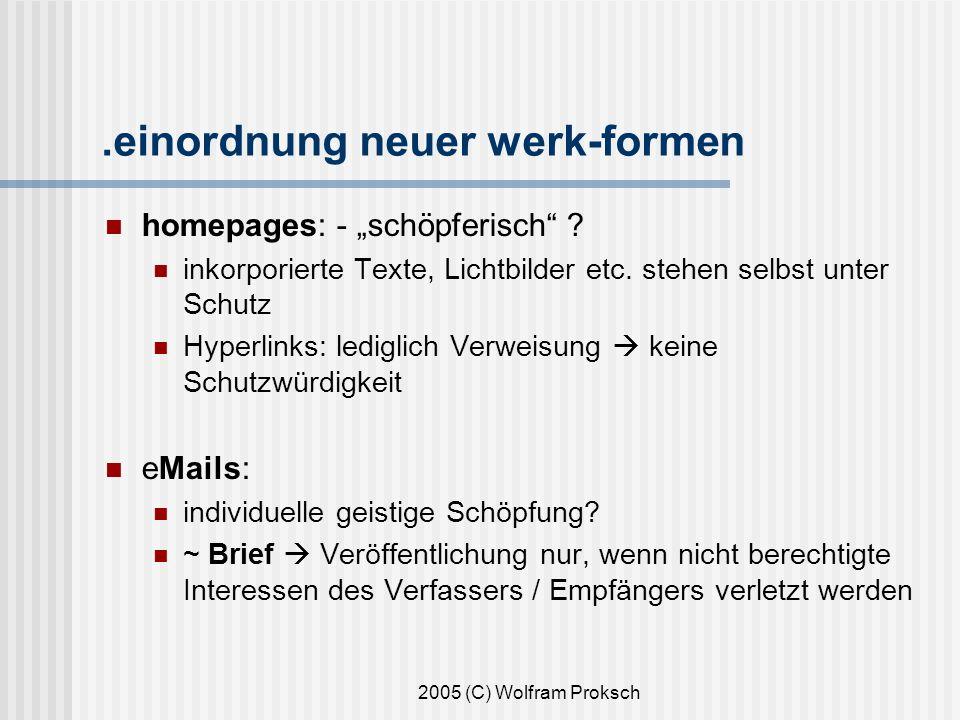 .einordnung neuer werk-formen