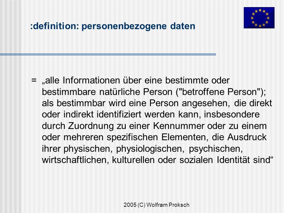:definition: personenbezogene daten