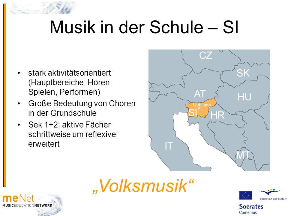 "Musik in der Schule – SI ""Volksmusik"