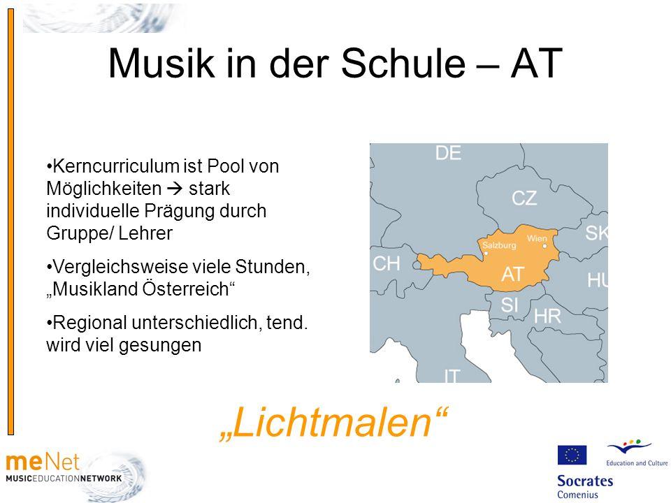 """Musik in der Schule – AT """"Lichtmalen"""