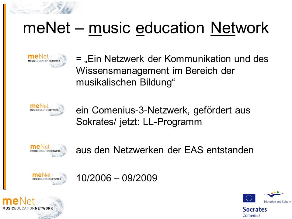 meNet – music education Network