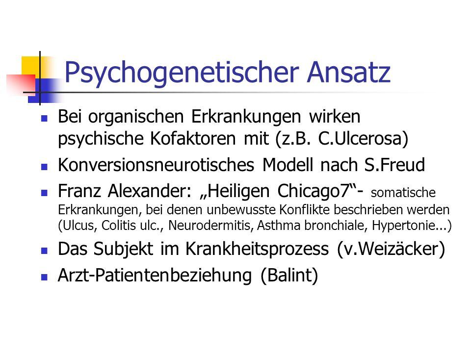 Psychogenetischer Ansatz