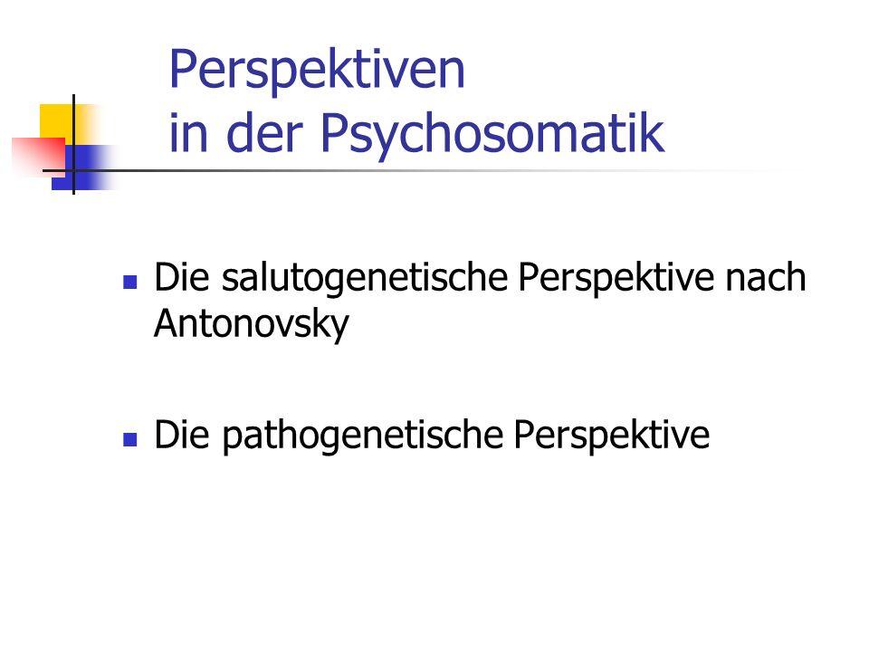 Perspektiven in der Psychosomatik