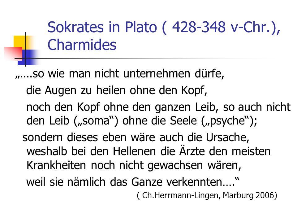 Sokrates in Plato ( 428-348 v-Chr.), Charmides