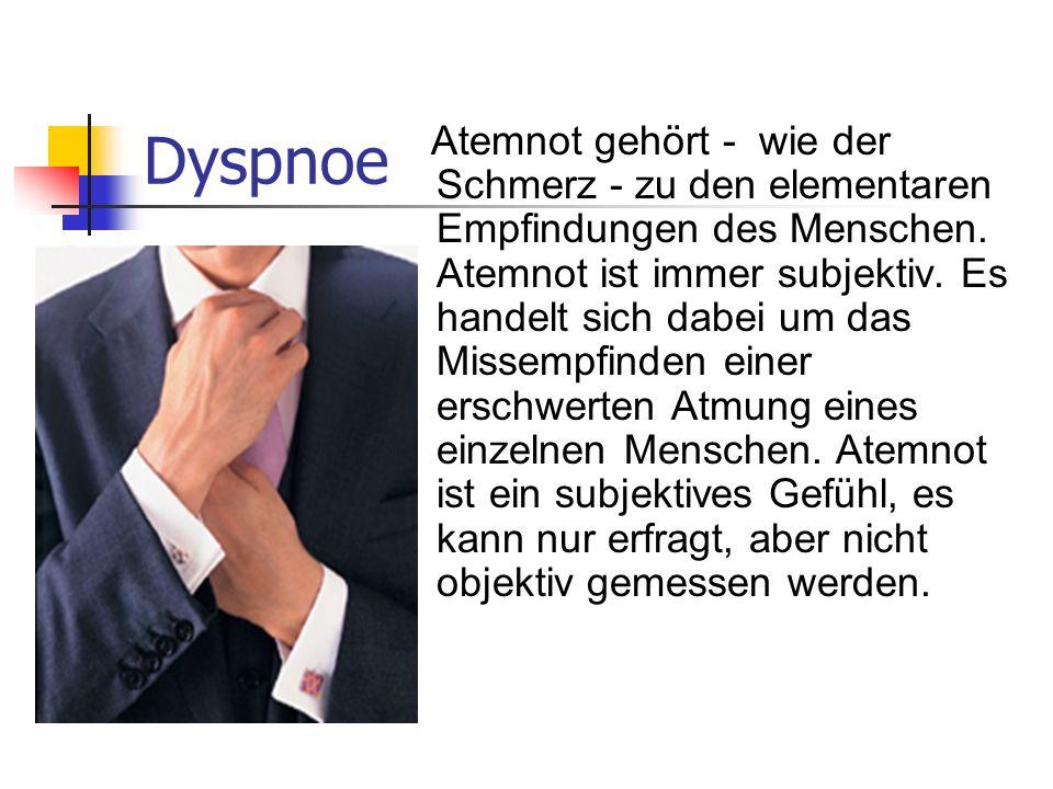 Dyspnoe