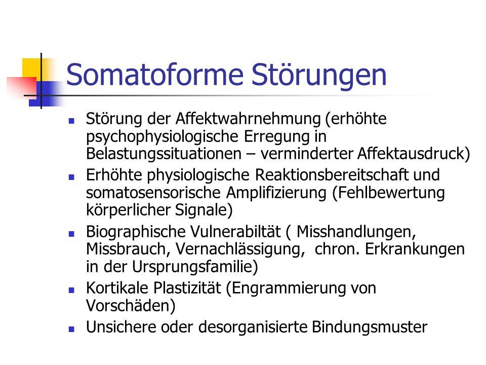 Somatoforme Störungen