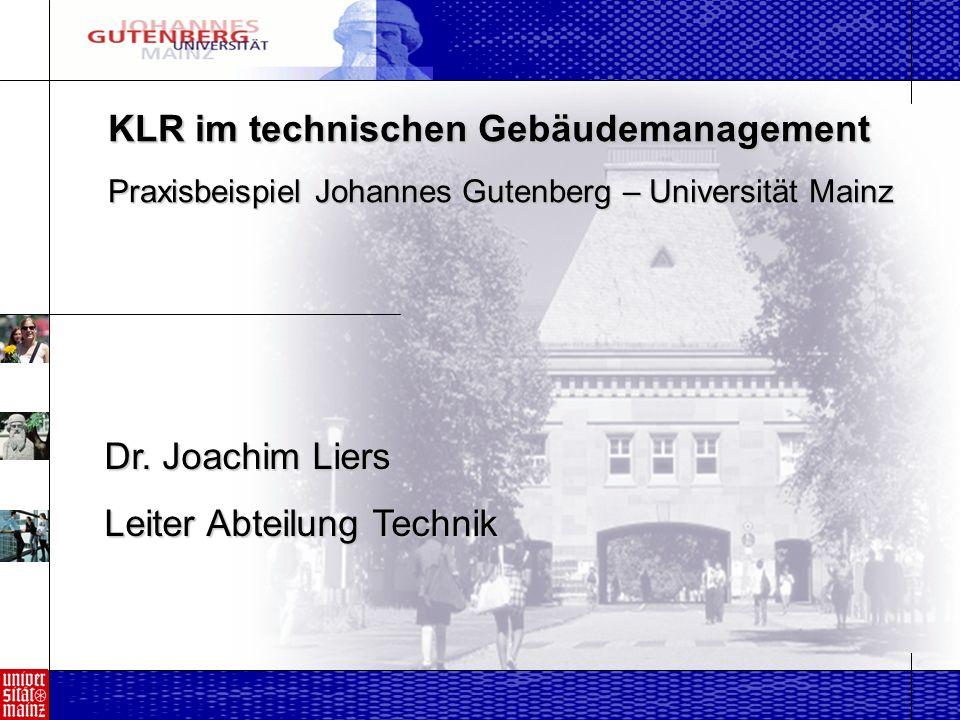 KLR im technischen Gebäudemanagement