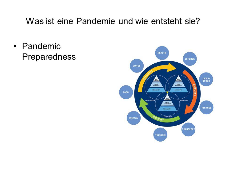 Was ist eine Pandemie und wie entsteht sie