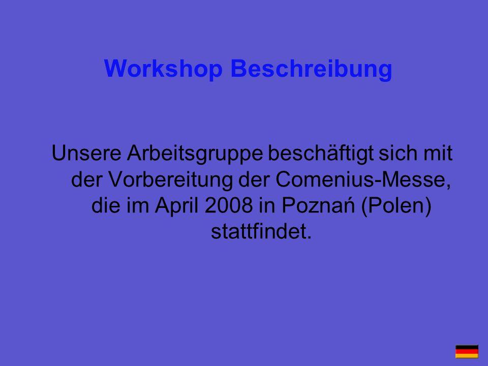 Workshop Beschreibung