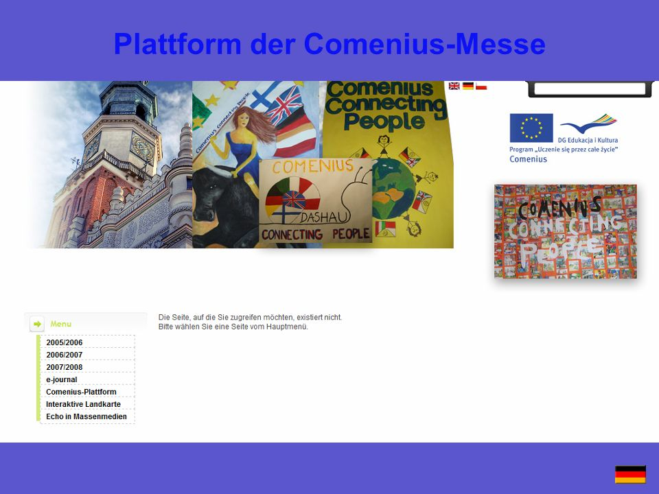 Plattform der Comenius-Messe