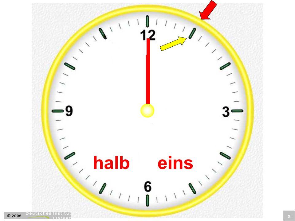 halb eins © 2006 x